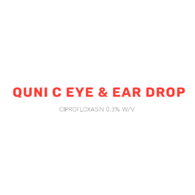 Quni C Eye & Ear Drop